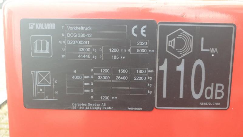 zware heftruck kalmar dcg330 12 sob2265 8