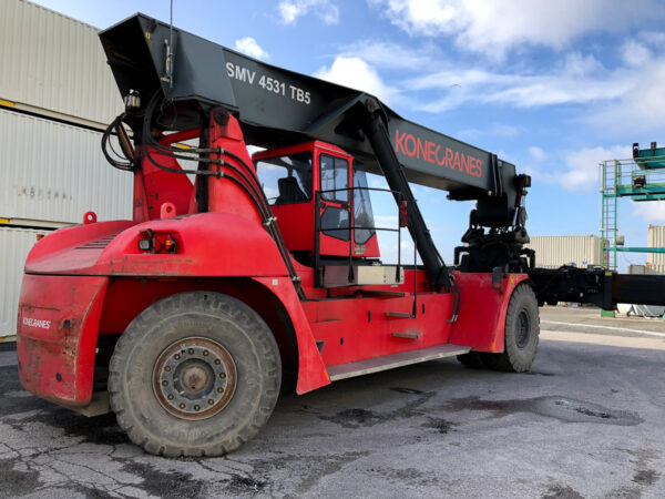 reachstacker smv 4531tc5 sob2089 5