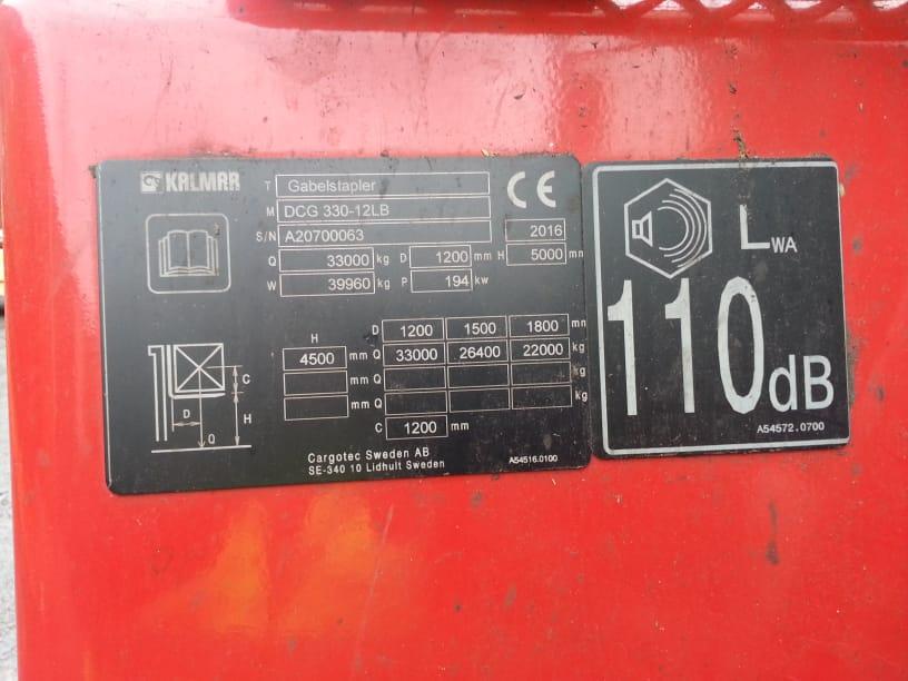 Kalmar DCG330 12LB 1