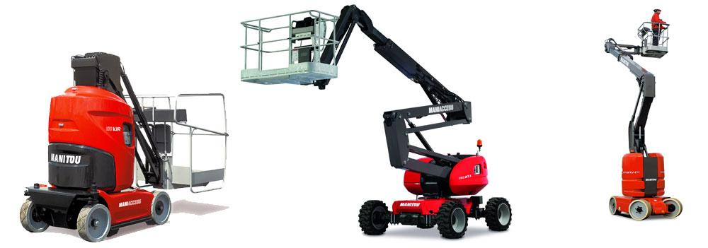 Manitou hoogwerkers - Feyter Forklift Services
