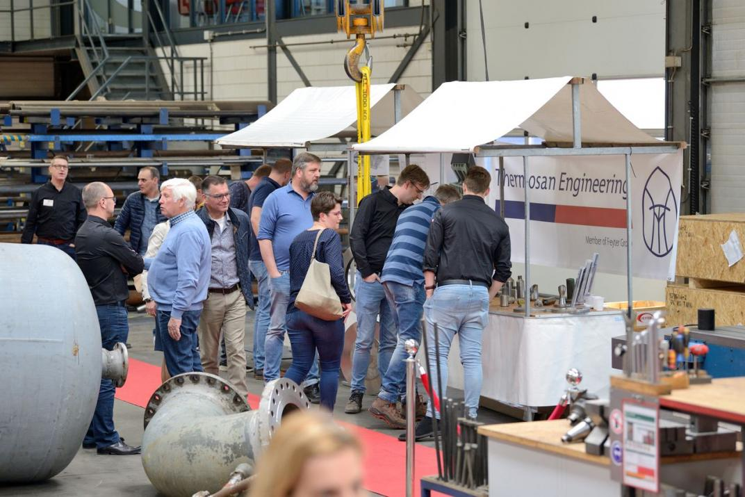 Foto jubileum Feyter Group - Industrial 21