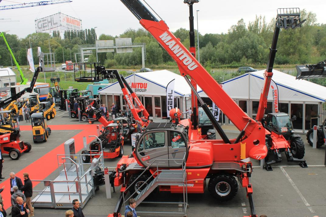 Manitou stand Matexpo 2017