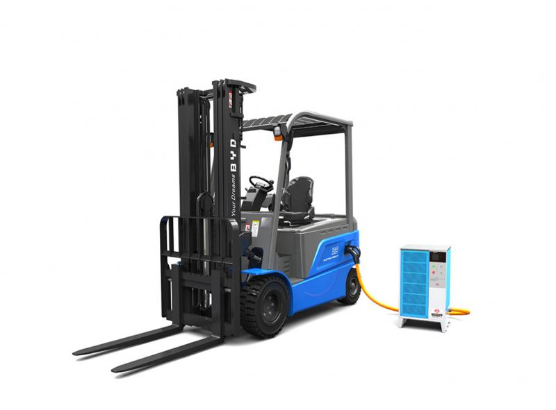 BYD Lithium forklifts - Feyter Forklift Services